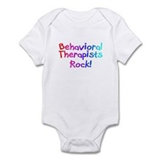 Behavioral Therapists Rock! Infant Bodysuit