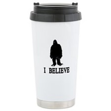 I Believe Travel Coffee Mug