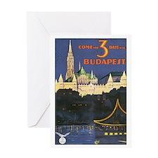 Budapest Hungary Greeting Card