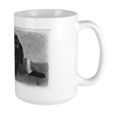 Large Lazy Dog Mug