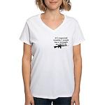 CH-02 Women's V-Neck T-Shirt
