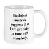 Statistically in Tune . . . Small Mug