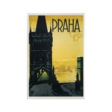 Praha Czechoslovakia Rectangle Magnet (100 pack)