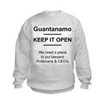 Guantanamo lover Kids Sweatshirt