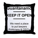 Guantanamo lover Throw Pillow