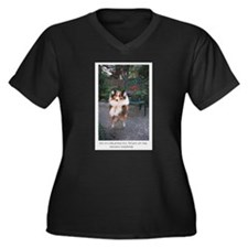 You are only young once Women's Plus Size V-Neck D