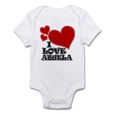 I Love Abuela Infant Bodysuit