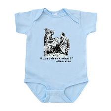 Socrates Humor Hemlock Infant Bodysuit