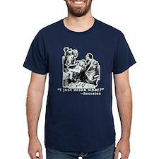 Socrates Humor Hemlock T-Shirt