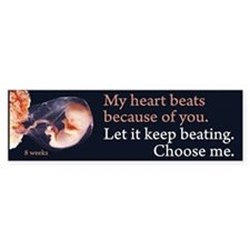 Choose Me Bumper Bumper Sticker