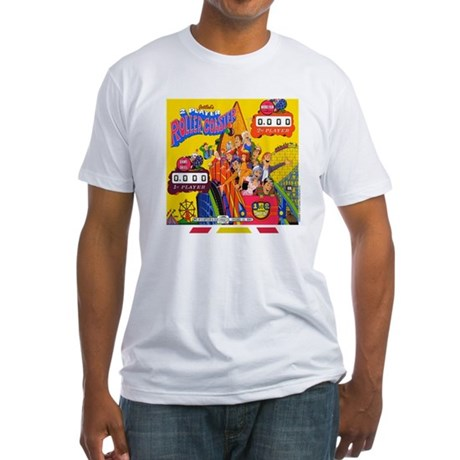 "Gottlieb® ""Roller Coaster"" Fitted T-Shirt"