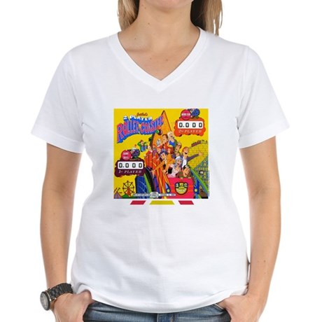 "Gottlieb® ""Roller Coaster"" Women's V-Neck T-Sh"