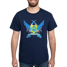 Raj Karega Khalsa. Dark Blue T-Shirt