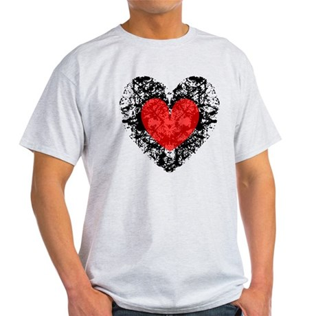 Pretty Grunge Heart Light T-Shirt