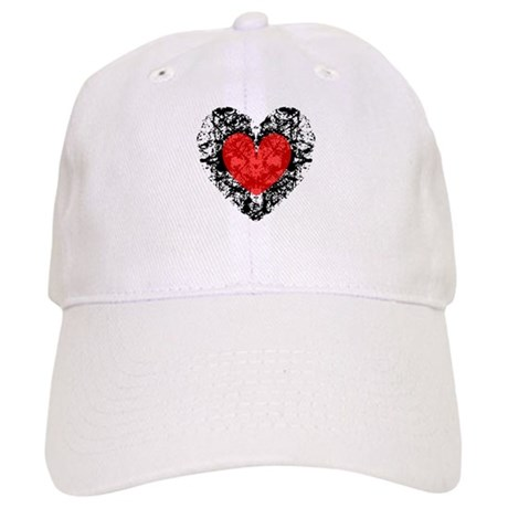 Pretty Grunge Heart Cap