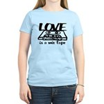 Love is a Mix Tape Women's Light T-Shirt