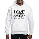 Love is a Mix Tape Hooded Sweatshirt