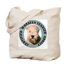 Wheaten Terrier Addict Tote Bag