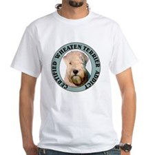 Wheaten Terrier Addict White T-shirt