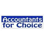 Accountants for Choice (bumper sticker)