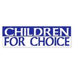 Children for Choice (pro-choice sticker)