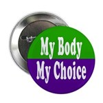 My Body, My Choice Button (10 pack)