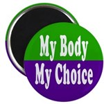 My Body, My Choice Magnet (10 pack)