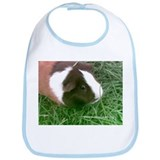 Ginger the cute guinea piggy Bib