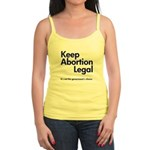 Keep Abortion Legal Jr. Spaghetti Tank
