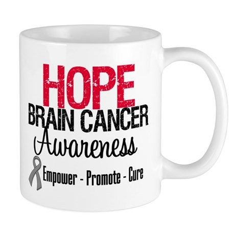 Hope Brain Cancer Mug