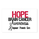 Hope Brain Cancer Postcards (Package of 8)