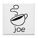 Java Joe Coffee Cartoon Tile Coaster