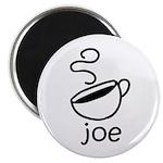 Java Joe Coffee Cartoon Magnet