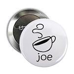 "Java Joe Coffee Cartoon 2.25"" Button"