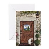 Craftsman Door Greeting Card