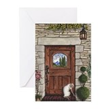 Craftsman Door Greeting Cards (Pk of 10)