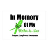 In Memory Mother-in-Law Postcards (Package of 8)