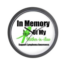 In Memory Mother-in-Law Wall Clock