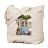 Greek Door Tote Bag