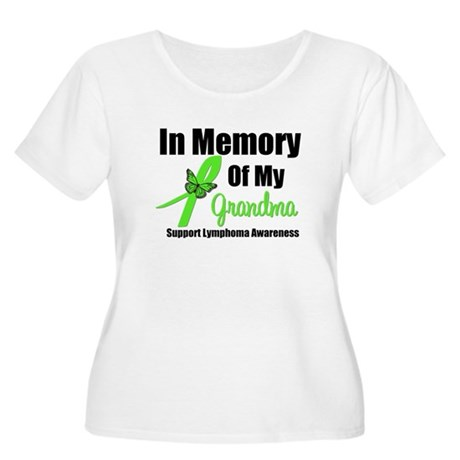 In Memory of My Grandma Women's Plus Size Scoop Ne