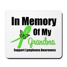 In Memory of My Grandma Mousepad