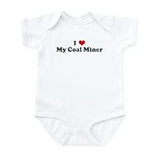 I Love My Coal Miner Onesie
