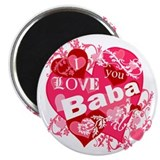 I Love You Baba Magnet