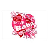 I Love You Baba Postcards (Package of 8)