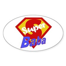 Super Baba Oval Decal