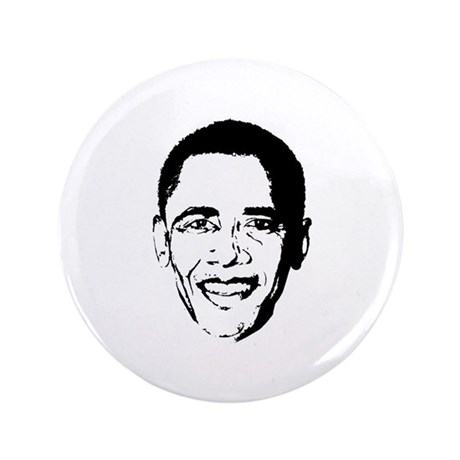 "Obama Face 3.5"" Button (100 pack)"