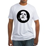 Obama Face Fitted T-Shirt