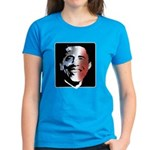 Stars and Stripes Obama Women's Dark T-Shirt