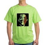 Stars and Stripes Obama Green T-Shirt