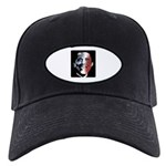 Stars and Stripes Obama Black Cap